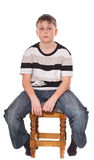 Muchacho adolescente Foto de archivo libre de regalías