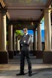 Muchacho adolescente afroamericano integral Fotografía de archivo libre de regalías