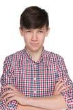 Muchacho adolescente confiado Fotos de archivo libres de regalías