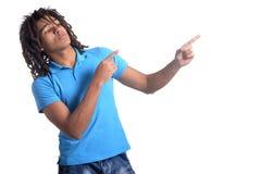 Muchacho adolescente de la raza mixta Imagen de archivo