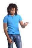 Muchacho adolescente de la raza mixta Fotografía de archivo libre de regalías