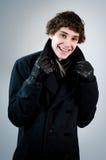 Muchacho adolescente de moda feliz Fotografía de archivo libre de regalías