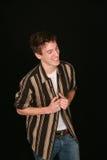 Muchacho adolescente de risa Foto de archivo