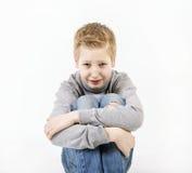 Muchacho adolescente gritador Foto de archivo