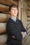 Muchacho adolescente hermoso Imagen de archivo libre de regalías