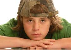 Muchacho adolescente joven Imágenes de archivo libres de regalías