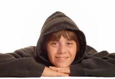 Muchacho adolescente joven feliz Fotografía de archivo libre de regalías