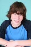 Muchacho adolescente joven lindo Imagenes de archivo