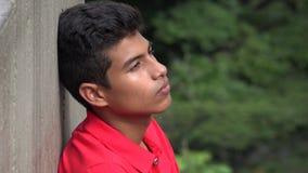 Muchacho adolescente rechazado solo Imagen de archivo