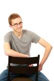 Muchacho adolescente rubio Foto de archivo