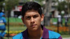 Muchacho adolescente serio Fotografía de archivo