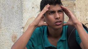 Muchacho adolescente sicopático o neurótico Imagen de archivo libre de regalías