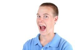 Muchacho adolescente sonriente Imágenes de archivo libres de regalías