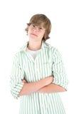 Muchacho adolescente sonriente Fotos de archivo libres de regalías