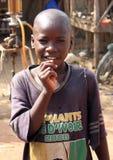 Muchacho africano Fotografía de archivo