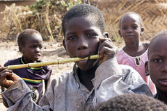 Muchacho africano Foto de archivo