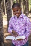 Muchacho africano adolescente Fotos de archivo