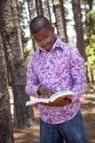 Muchacho africano adolescente Imágenes de archivo libres de regalías