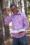 Muchacho africano adolescente Imagenes de archivo