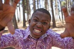 Muchacho africano adolescente Fotos de archivo libres de regalías