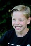 Muchacho amistoso del adolescente Imágenes de archivo libres de regalías