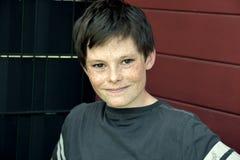 Muchacho amistoso del adolescente Fotos de archivo