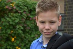Muchacho amistoso del adolescente Fotografía de archivo libre de regalías