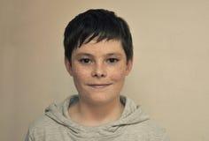 Muchacho amistoso del adolescente Imagen de archivo libre de regalías