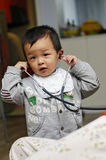Muchacho asiático Imagen de archivo