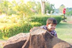 Muchacho asiático Foto de archivo libre de regalías