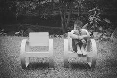 Muchacho asiático joven solamente fotos de archivo libres de regalías