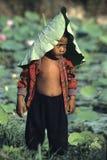 Muchacho camboyano Fotografía de archivo libre de regalías