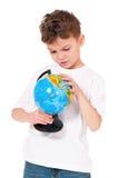 Muchacho con el globo Fotografía de archivo libre de regalías