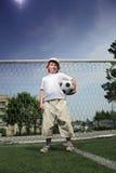 Muchacho con la bola Foto de archivo