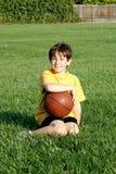 Muchacho con la bola Imagen de archivo