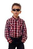 Muchacho con las gafas de sol Fotos de archivo libres de regalías