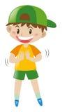 Muchacho con sonrisa grande libre illustration