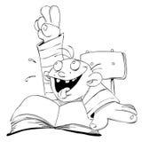 Muchacho de escuela libre illustration