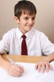 Muchacho de escuela Foto de archivo
