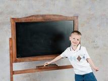Muchacho de escuela Imagen de archivo libre de regalías