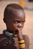 Muchacho de Himba Foto de archivo libre de regalías