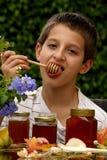 Muchacho de la miel Foto de archivo libre de regalías