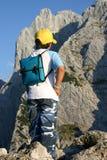 Muchacho de la montaña Foto de archivo