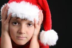 Muchacho de la Navidad Imagen de archivo libre de regalías