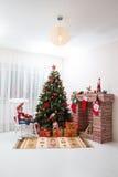 Muchacho de la Navidad Fotos de archivo