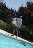 Muchacho de la piscina Foto de archivo libre de regalías