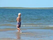 Muchacho de la playa Foto de archivo