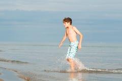 Muchacho de la playa Imágenes de archivo libres de regalías