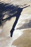 Muchacho de la sombra Imágenes de archivo libres de regalías