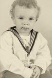 Muchacho de marinero victoriano Foto de archivo libre de regalías